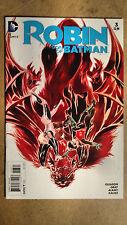 Robin Son Of Batman #3 Nguyen Variant 1St Printing Dc Comics (2015)