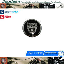 New Jaguar XK S-Type X350 X-Type Badge Wheel Silver Black Background C2C30081