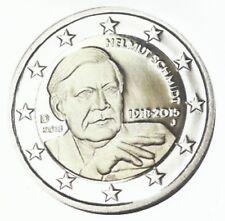 DUITSLAND II 2018 - 5 x 2 Euro - Helmut Schmidt -100e geboortedag - UNC!