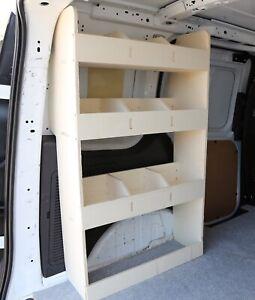 Ford Connect 2014+ Van Racking Tool Storage Shelving, passenger side