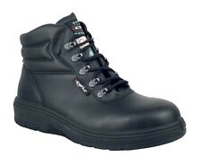 New Men's Cofra new asphalt safety boots black  14 W - USA/CAN safety standard