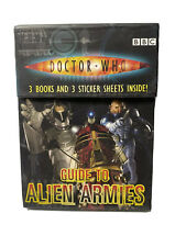Doctor Who Guide To Alien Armies - 3 Mini Books With Stickers