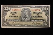 1937 Canada. ($20) Twenty Dollars. Series K/E. Coyne-Towers.