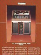 Golden 90 Jukebox FLYER Original R-90 Rowe AMI 1986 NOS Phonograph Music Artwork