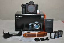 Sony Alpha a7RII 42.4MP Digital Camera -Black (Body Only) w/Box+Extra_Low Clicks