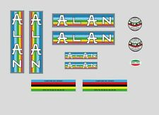 Alan Bicycle Frame Stickers - Decals: n.7