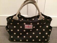 Cath Kidston Navy Spot day/tote handbag/bag