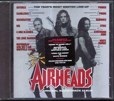 Airheads - OST - Anthrax, Motorhead, Primus, Ramones, White Zombie + More - NEW