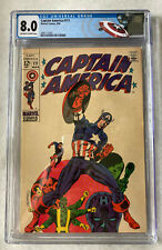 Captain America #111 CGC 8.0 (VF) (1969)  Off-white to white pages