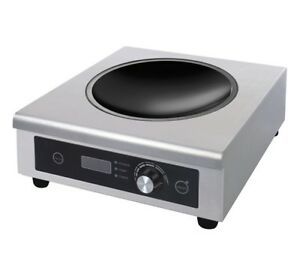 Chef King BT500D Heavy Duty Wok Induction Hob. 3kw - FREE P & P