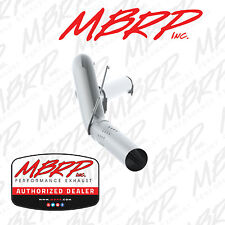 """MBRP 5"""" FILTER BACK DIESEL EXHAUST KIT FITS 08-10 FORD F250 F350 6.4L ALUMINIZED"""