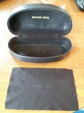Michael Kors Dark Brown Sunglasses Holder / Hard Case