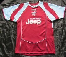 Scunthorpe United FC home shirt jersey Carlotti 2005-2007 The Iron adult SIZE S