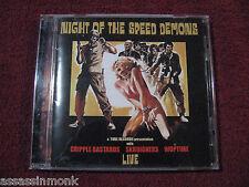 Night Of The Speed Demons CD Cripple Bastards Woptime Skruigners Italian HC
