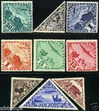 Tannu Tuva. Year 1934. Sc. C1-9. MLHOG. SCV 1st airmail set