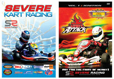 2-PACK / SEVERE KART RACING and KART ATTACK  DVD MOTORSPORTS Full Screen, G, Spo