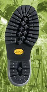 VIBRAM #109 Logger Rubber Full Sole 1 PAIR- Shoe Repair Supplies