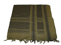 Military Army SAS Style Arab Shemagh Keffiyeh Cotton Desert Tactical Shawl Scarf