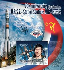 US/Russian Shuttle-MIR STS-60 Sergei Krikalev Cosmonaut Space Stamp Sheet 2/2012