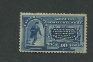 1888 US Special Deliver Stamp #E2 Mint Hinged Very Fine Original Gum