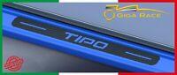 adesivi battitacco sottoporta auto fiat tipo nuova decal sticker protezione 3d