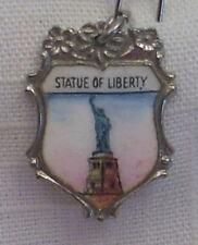Vintage REU Sterling/Enamel New York City - Statue of Liberty Large/Ornate Charm