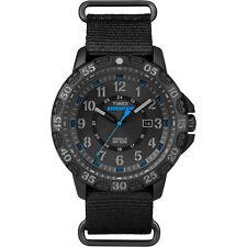 Timex Expedition Rugged Resin Slip-Thru Watch - Black/Black