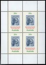 Dealer Lot Of 5 Australia 1978 50Th National Stamp Week Mini Sheets (Sc# 687a)