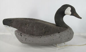 Vintage Canadian/Canada Goose Duck Decoy Wood Head H Haman Middletown DE yqz