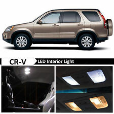 6x White Interior LED Lights Package for 2002-2006 Honda CR-V CRV + TOOL