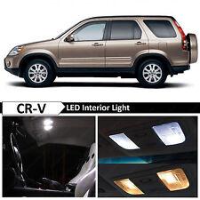6x White Interior Map Dome Trunk LED Lights Package Fit 2002-2006 Honda CR-V CRV