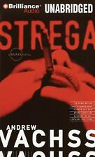 BRAND NEW: STREGA, Andrew Vachss, UNABRIDGED CD, + SEE MY DVDS & MORE AUDIOS