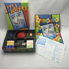 Hasbro Taboo The Game of Unspeakable Fun Board Game 2003