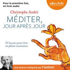 LIVRE AUDIO / EBOOK  Méditer jour après jour Christophe André -  PAS DE CD