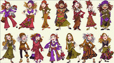 Loralie Gypsy Chique Cotton Fabric Loralie Harris Gypsies Ladies By The PANEL