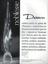 ▬► PUBLICITE ADVERTISING AD DAUM Cristal
