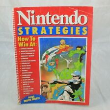 1989 Nintendo Strategies Cheats Guide Book