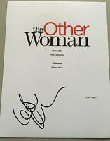 The Other Woman Signed Script Cover By Leslie Mann Proof Movie Autograph