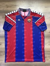 0ebafaa04a73e VINTAGE BARCELONA SPAIN 1992 1995 HOME FOOTBALL SHIRT JERSEY CAMISETA KAPPA