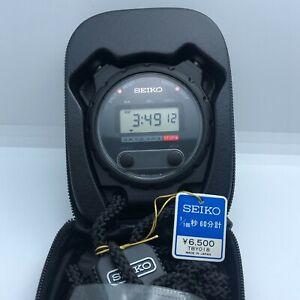 New SEIKO S024-6000 StopWatch Timekeeper Sports Digital Watch