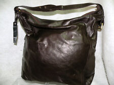 NWT Latico Leather Waverly Tote Purse Bag Blackberry Color Made In USA Large