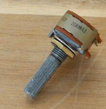 1x Yamaha C-6 Poti / Potentiometer / High / Low Bandwidth / ALPS 032r 20K X2