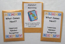 3 Teacher Made Literacy Centers Learning Resource Games Alphabet Recognition