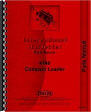 International Harvester 4140 Compact Skid Steer Loader Parts Manual IH-P-4140