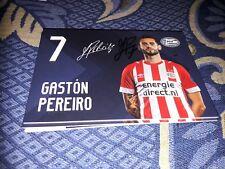 Signierte AK Gaston Perreiro PSV EINDHOVEN NEU MEGA RAR