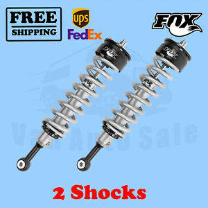 """Fox Shocks Kit 2 0-2"""" Lift Front for Ford F150 2WD/4WD 2014-2017"""