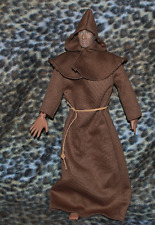 """Monk Outfit for 1/6 scale 12"""" action figure man. Hot Toys Sideshow Dragon BBI"""