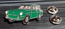 Volkswagen VW pin typ 3 Sedán 1500 verde - maße 40x20mm