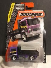 2016 Matchbox #55/125 : PIT KING Construction Dump Truck