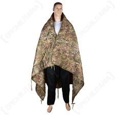 US Military Warm Cosy Poncho Liner - Multitarn Pack Away Bag